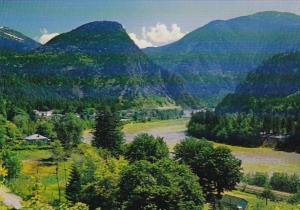 Canada British Columbia Yale Fraser Canyon Trans-Canada Highway