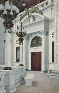 HARRISBURG, Pennsylvania, PU-1909; Interior hallway in Capitol