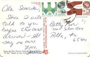 Playa del Sol Puerto Vallarta Mexico Tarjeta Postal Postal Used Unknown