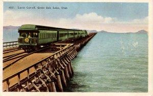 UT - Lucin Cutoff. The Overland Express