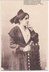 Social History; Costume De La Provence PPC, Unposted, Woman Leaning on Chair