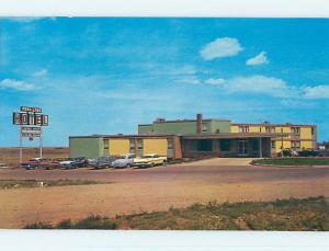 Unused Pre-1980 PARK LANE MOTEL Medicine Hat Alberta AB o0405