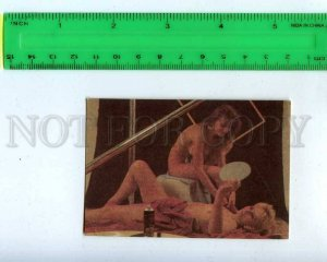 259388 USSR NUDE Theater studio in the Old Park Pocket CALENDAR 1989 year
