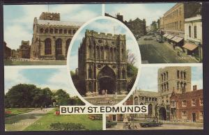 Multi View Bury St Edmunds,England,UK Postcard
