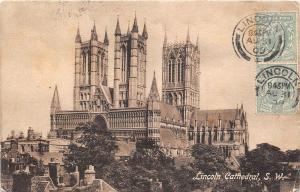 BR58944  lincoln cathedral   uk