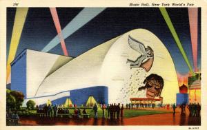 NY - 1939 New York World's Fair. Music Hall