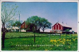 Pres Eisenhower's Farm, Gettysburg PA