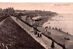 Cliftonville, The Beach Promenade Plage Panorama Valentine's Series