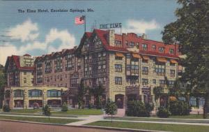 Exterior, The Elms Hotel, Excelsior Springs, Missouri,PU-1955