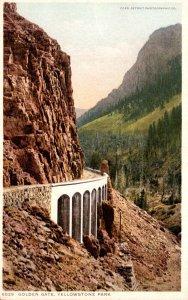 Yellowstone National Park Golden Gate Detroit Publishing