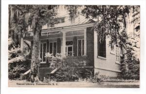 SUMMERVILLE, South Carolina; Timrod Library, 30-40s