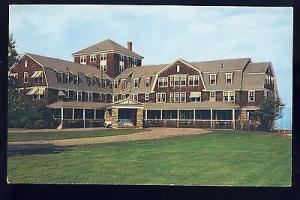 Ogunquit, Maine/ME Postcard, Sparhawk Hall Resort & Hotel,