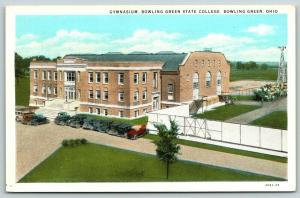 Bowling Green Ohio~State College~Gymnasium Next to Bleachers~Athletic Field~1929