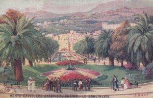 MONTE-CARLO, Monaco, 1900-10s; Les Jardins du Casino, Le Boulingrin ; TUCK 25