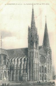 France Chartres La Cathedrale 01.96