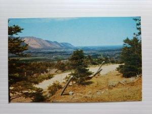 VTG Postcard Sunrise Valley Cape North North Mountain Nova Scotia Canada   394