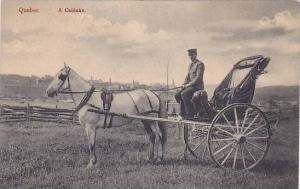 A Caleche, Quebec, Canada, 1900-1910s (2)