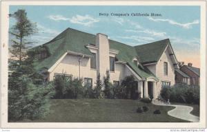 Betty Compson's CALIFORNIA Home, 10-20s