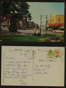 King Street Saint John NB  pmk Ottawa 1965