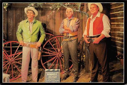 Bonanza, Michael Landon Movie Poster Postcard Movie Poster Postcard Bonanza M...