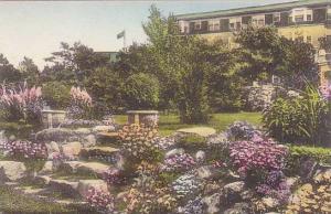 Maine Ogunquit The Lookout Hotel Terrace Garden Albertype