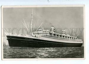 190261 HOLLAND AMERIKA Line ship NIEUW AMSTERDAM postcard