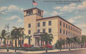 Florida Orlando U S Post Office Building The City Beautiful