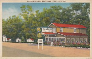 TANNERSVILLE , Pennsylvania , 1930-40s ; Pocohontas Grill