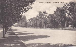 BOZEMAN, Montana, 1900-1910s ; Wilson Avenue