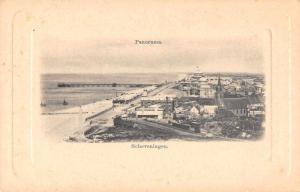 Scheveningen Netherlands Panorama View Antique Postcard J75142
