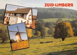 Netherlands Zuid-Limburg, windmill, muehle, landscape