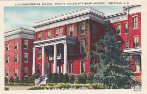 Administration Building, Woman's College Of Furman University, Greenville, So...