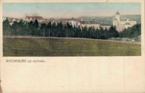 Czech Republic - RychmBurk od východu Rumburk 02.84