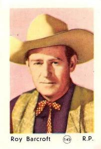 Movie Actor Roy Barcroft R.P. cowboy