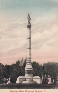 Monmouth Battle Monument Freehold New Jersey 1909