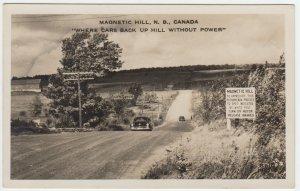 Magnetic Hill, New Brunswick, Canada