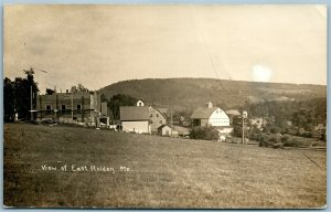 EAST HOLDEN ME ANTIQUE REAL PHOTO POSTCARD RPPC