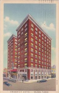 Florida Orlando Angebilt Hotel 1940