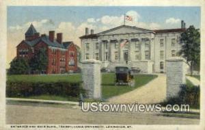 Transylvania University Lexington KY 1919