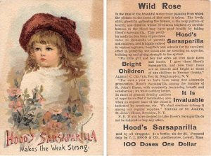 Victorian Trade Card Approx size inches = 3 x 4.75 Pre 1900 yellowing on fron...