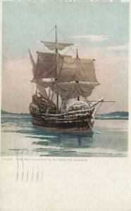 SAILING VESSEL ; The Mayflower , 00-10s