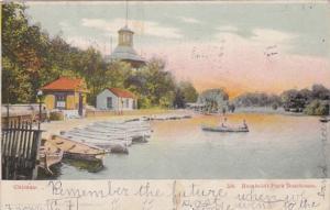 Illinois Chicago Humboldt Park Boathouse 1906