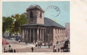 BOSTON, Massachusetts, PU-1905; King's Chapel