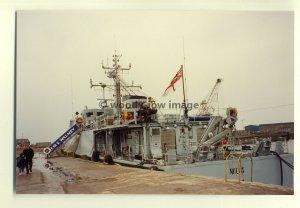 na0443 - Royal Navy Warship - HMS Walney - photograph 6x4