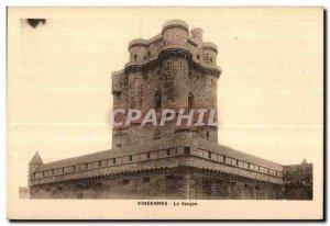 Old Postcard Vincennes donjoin