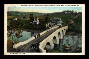 NATIONAL HIGHWAY BRIDGE WEST OF HAGERSTOWN MARYLAND