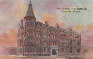 WICHITA, Kansas, 1908; Scottish Rite Temple