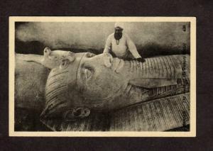 Egypt  Egyptian Memphis Head Statue of de Ramses Postcard Carte  Postale