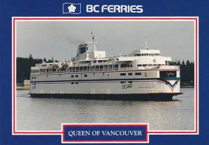 British Columbia Ferry Corporation Queen Of Vancouver