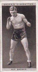 Ogdens Vintage Cigarette Card Pugilists In Action 1928 No 3 Alf Barber